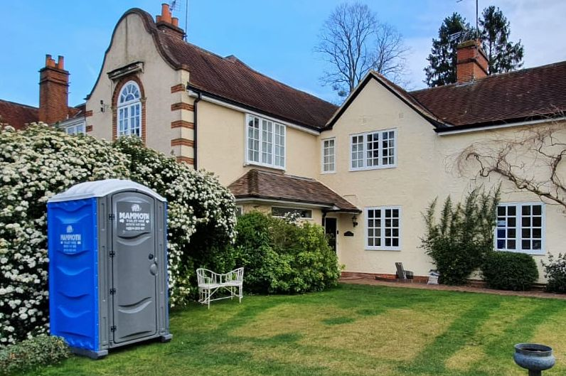 Hire toilets for events