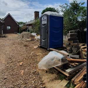 Toilets for building sites