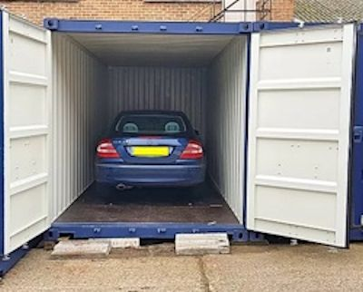 Secure storage containers to hire
