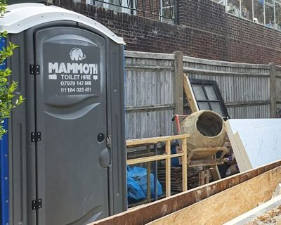 Hire porta loos for your construction site