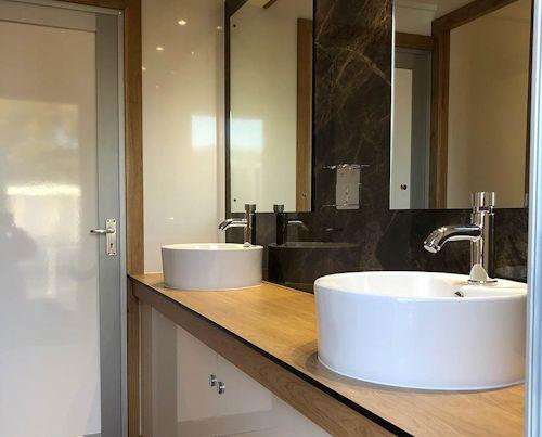 Luxury wash basins