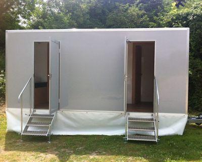Hire toilet cabin