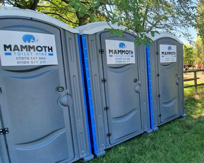 Hire toilets